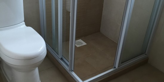 Common bathroom waterproofing apartment joo chiat for 34 boon leat terrace