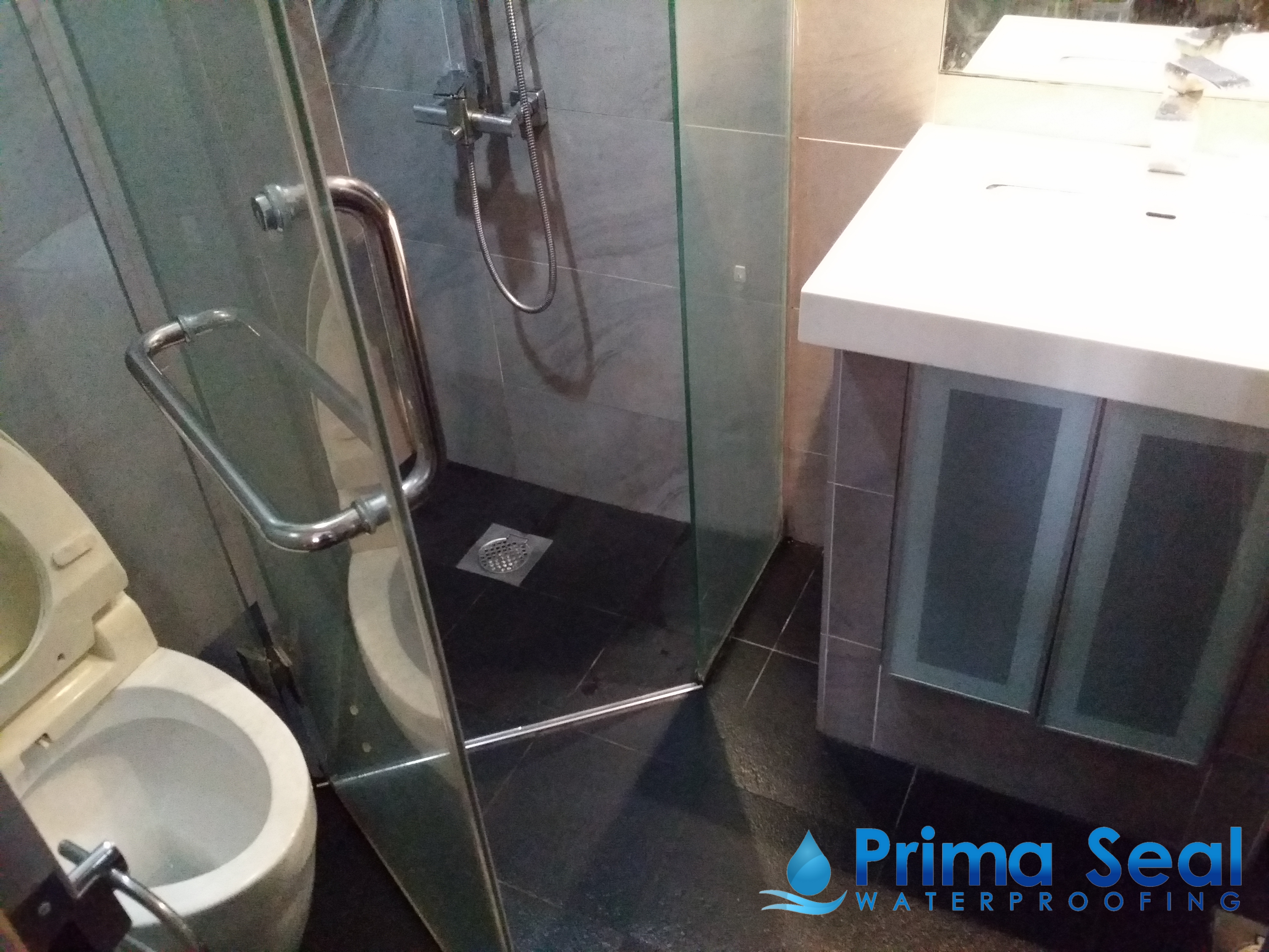 Master Bathroom Waterproofing Condo The Mayfair Jurong East Street 32 Prima Seal