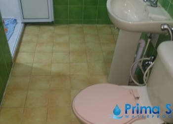 Common Bathroom Waterproofing Singapore (HDB – Serangoon North Ave 4)