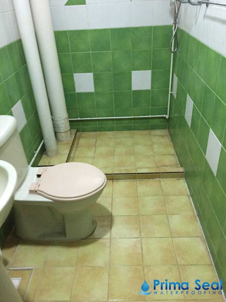 Common Bathroom Waterproofing Singapore Hdb Serangoon North Ave 4 Prima Seal Waterproofing