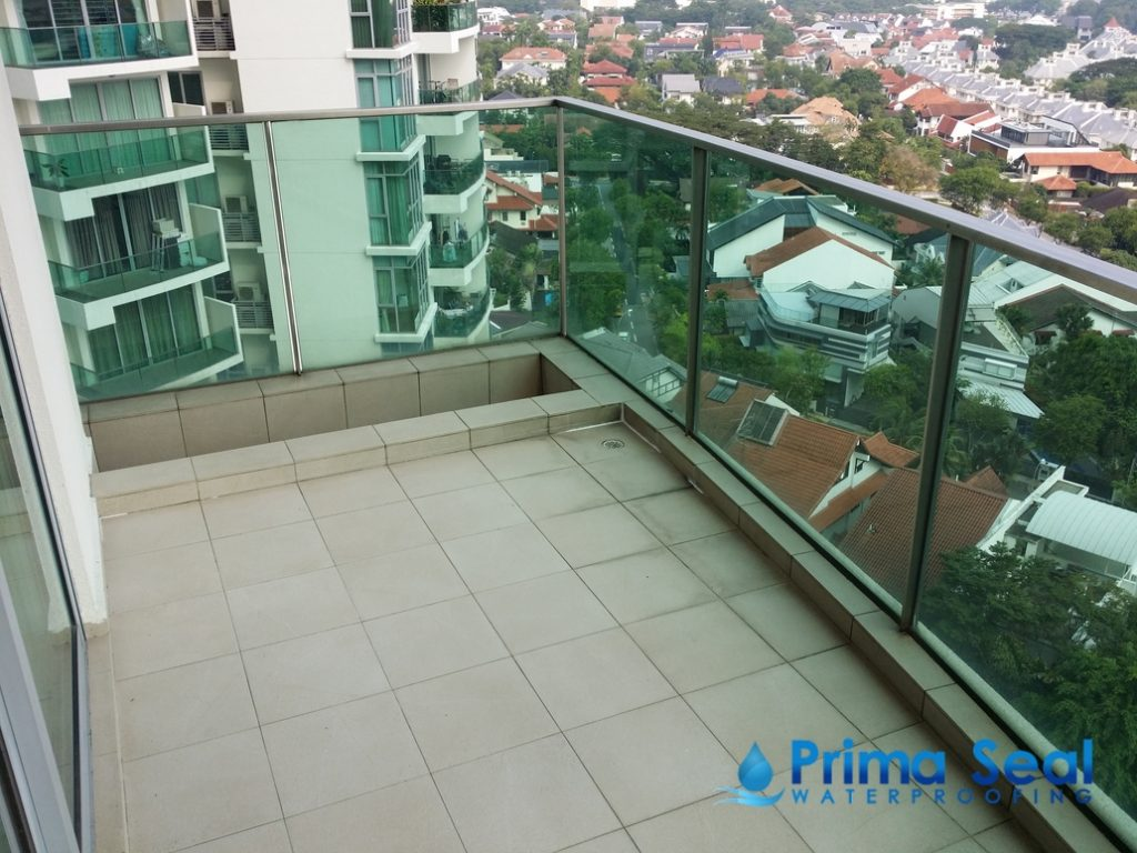 Balcony Waterproofing Singapore Condo The Marbella