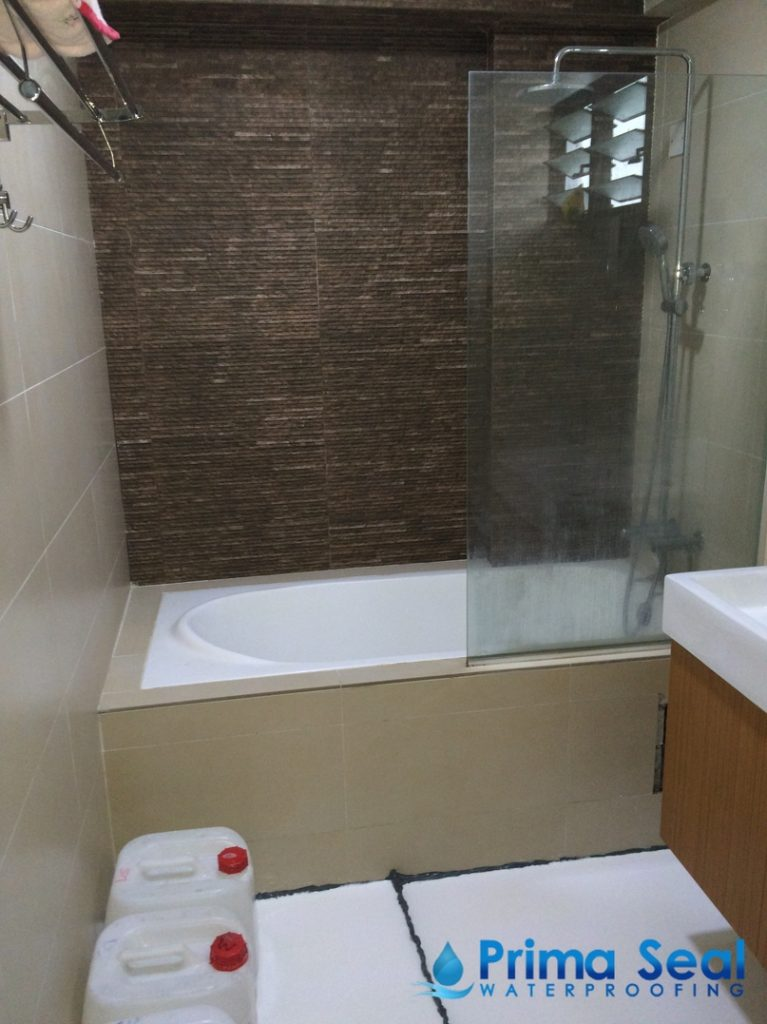 Common Bathroom Waterproofing Singapore Hdb Woodlands