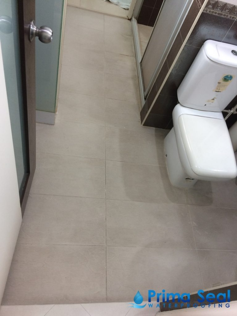 Common Bathroom Waterproofing Singapore Hdb Yishun
