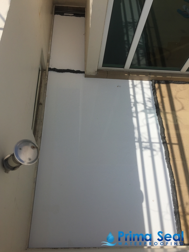 Balcony Waterproofing Singapore Flood Infusion Treatment