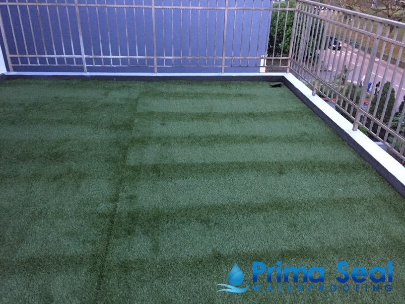 Balcony Chemical Infusion Waterproofing Singapore At
