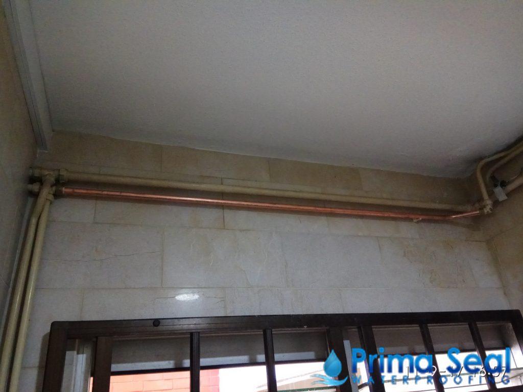 Replace Leaking Pipe Primaseal Waterproofing Singapore Hdb