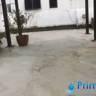 5 Layers Acrylic Waterproofing Membrane Fibreglass reinforced concrete roof waterproofing singapore commercial south bridge road 2