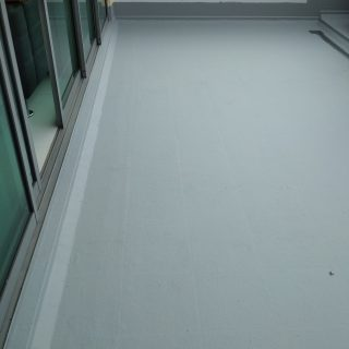 5 Layers Acrylic Waterproofing Membrane Fibreglass reinforced balcony waterproofing singapore landed bukit timah 8