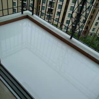 Chemical Infusion Treatment Balcony Waterproofing Singapore Condo River Valley Road 5