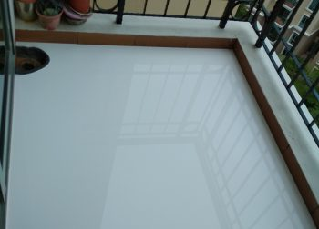 Chemical Infusion Treatment Balcony Waterproofing Singapore Condo – River Valley Road