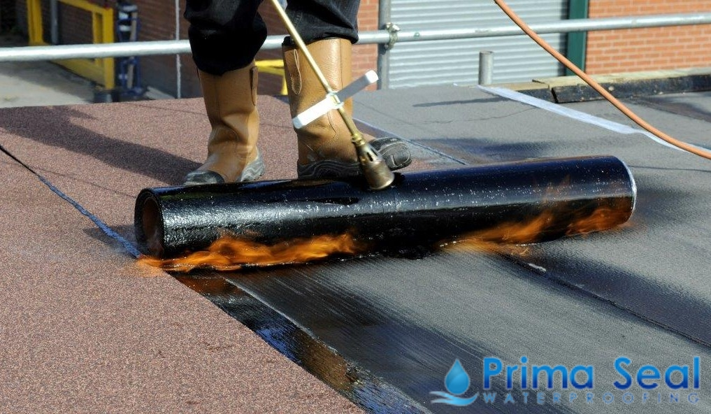 How Torch On Membrane Waterproofing Works Prima Seal