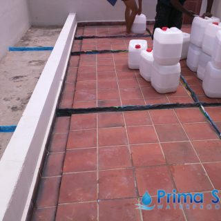 flood infusion treatment balcony waterproofing singapore landed bedok 2