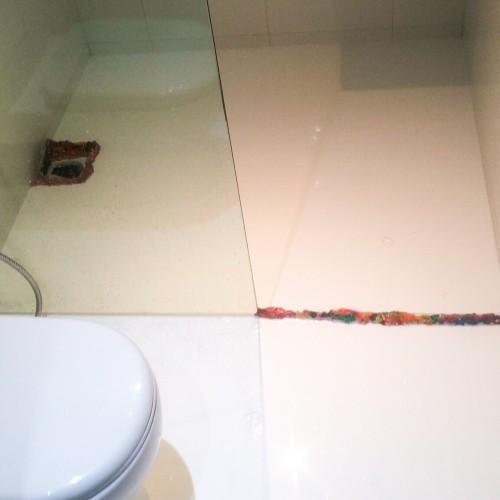 Common Bathroom waterproofing landed North East 2