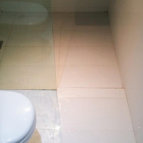 Common Bathroom waterproofing landed North East