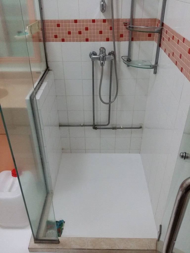 Master Bathroom Shower Hdb Pasir Ris Drive 1 Prima Seal Waterproofing Singapore