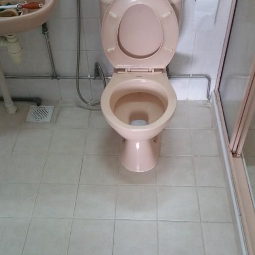 master bathroom HDB Compassvale Walk waterproofing 1