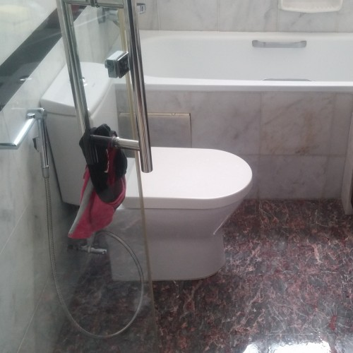 master bathroom Tampines Ave 1 Tropical Singapore waterproofing 1
