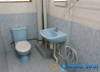 Common Bathroom Waterproofing (HDB – Hougang Ave 7)
