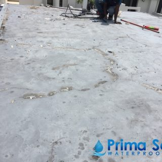 Concrete-Roof-waterproofing-singapore-5-layer-waterproofing-system-Fibreglass-treatment-Landed-Seletar-Green-View-Seletar-6