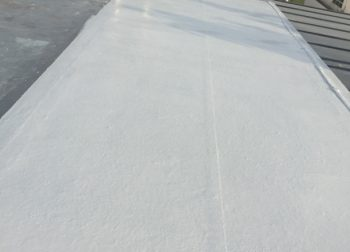 Concrete Roof Waterproofing Singapore, 5 Layer Waterproofing System, Fibreglass treatment – Landed Seletar