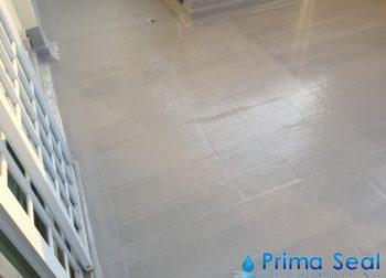 Concrete balcony 5 layer Fibreglass treatment – condo at Woodgrove drive, singapore