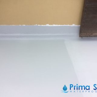 5 Layers Acrylic Waterproofing Membrane Fibreglass reinforced concrete roof waterproofing singapore commercial south bridge road 7