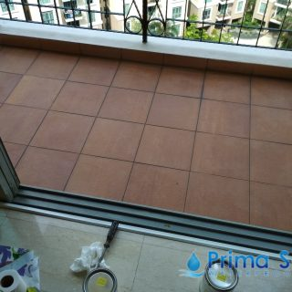 Chemical Infusion Treatment Balcony Waterproofing Singapore Condo River Valley Road 8