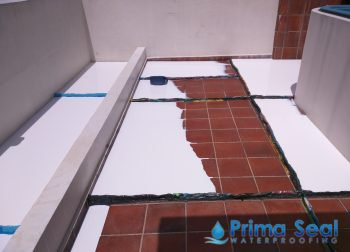 Balcony Waterproofing Flood Infusion Treatment Singapore Landed Bedok